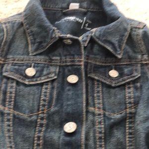 GAP Jackets & Coats - Blue gap denim boy or girls jacket size 4